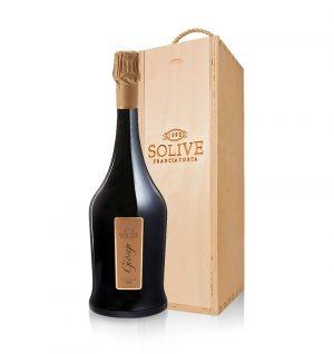 franciacorta giosep scatola in legno da 1 bottiglia