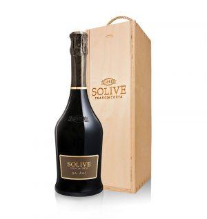 franciacorta Pas Dosé scatola in legno da 1 bottiglia