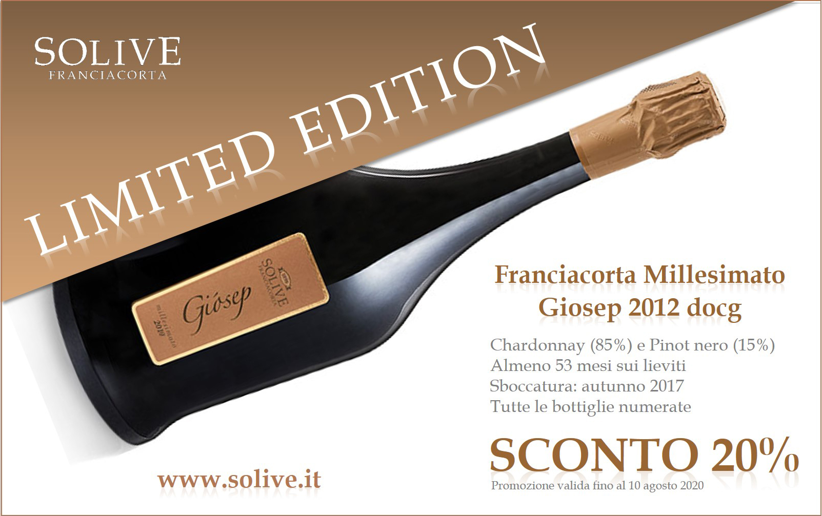 GIOSEP 2012 – LIMITED EDITION SCONTO 20%